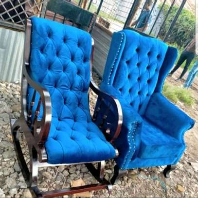 Beautiful Modern Quality Wingback Chairs image 2