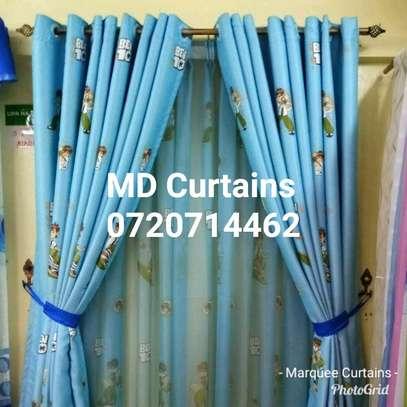Cartoon themed curtains image 5