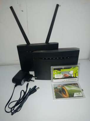 4G Universal Faiba and all simcards wifi router image 2