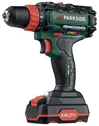 PARKSIDE CORDLESS DRILL & DRIVER 16 VOLTS 1 X 2 AH (PABS-16-B3) image 1