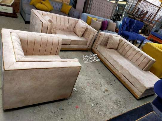 Complete set of sofas/three seater sofa plus two seater sofas plus one seater sofa/sofa bed image 1