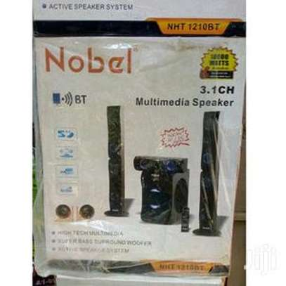Nobel 3.1 Channel Multimedia Speaker Model: NHT 1210BT 18000 Watts image 1