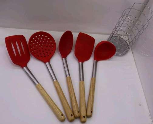 Silicon spoon set image 3