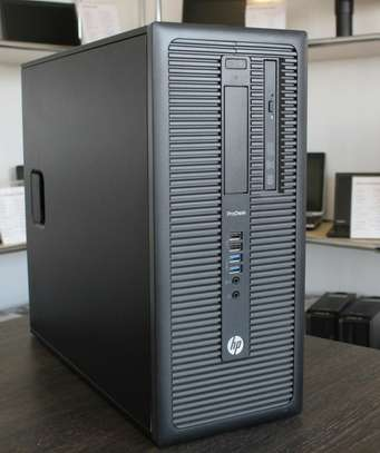 Hp Prodesk 600 G1 Tower Core i5 3.4ghz 4gb ram image 1