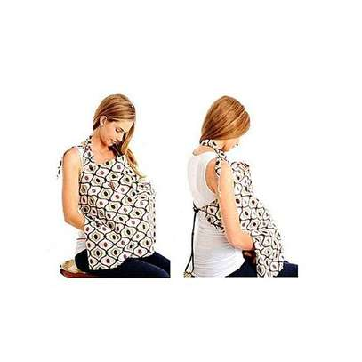 Generic Multicolored Nursing / Breastfeeding Cover with a Carrier Pouch