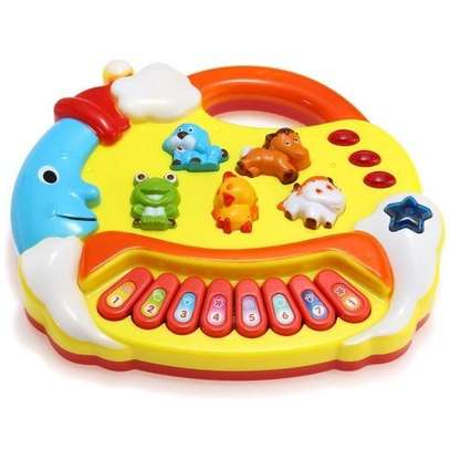 Kids Musical Educational Animal Farm Piano Developmental Music Toy Gift image 2