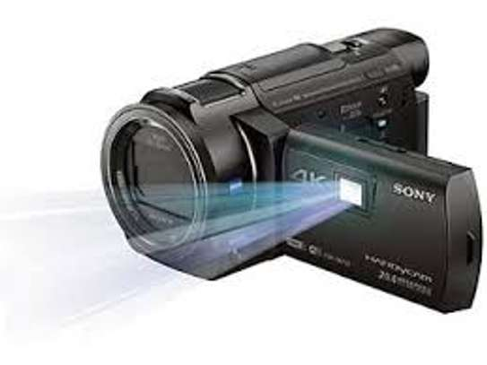 SONY CAMCORDER AXP35 (WITH WI-FI, 4K PROJECTOR)