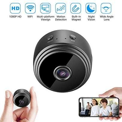 mini magnetic hd wifi spy camera image 1
