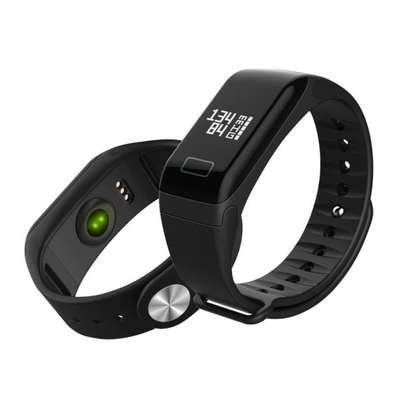 F1 Sports Heart Rate Blood Pressure Smart Bracelet Watch image 1