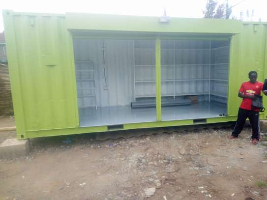 20ft shipping container wholesale shop image 2