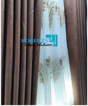 curtains brown linen curtains image 1