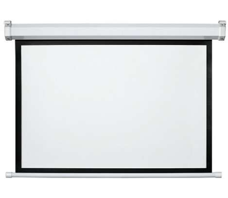 """Manual Wall Mount Projection Screen 84""""*84"""" image 1"""