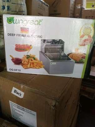 5ltrs electric deep fryer/deep fryer/deep fryer electric image 1