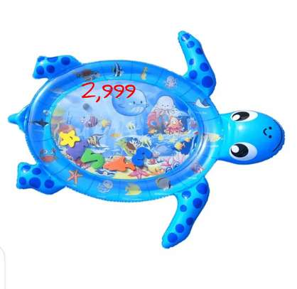 Baby inflatable water play mat. image 9