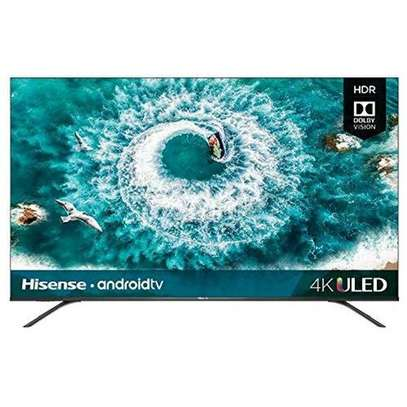 Hisense 50 inches UHD 4K Smart Andriod Frameless TV 50A71KEN Black 50 inch image 1