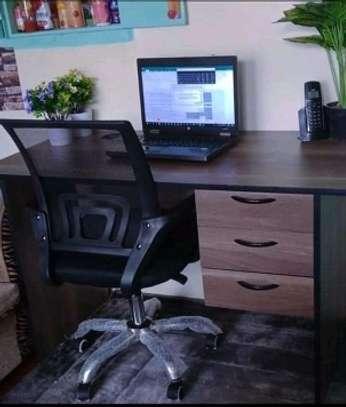 Office desk in Office chair