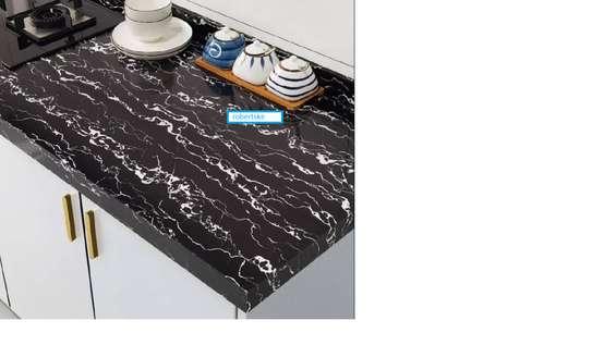 Elegant Marble Kitchen Contact paper design image 2
