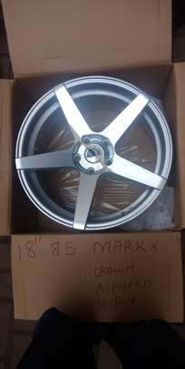Offset Rims size (18),  for Crown, Subaru, Legacy, Harrier. image 8
