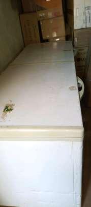 Big double door freezer image 1