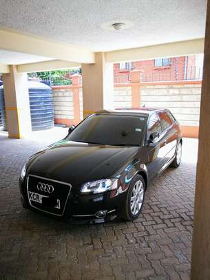 Black Audi A3 image 3