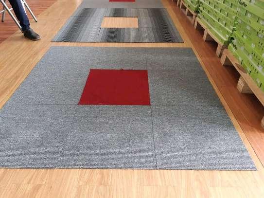 Grey and Dark Grey carpet Tiles image 3