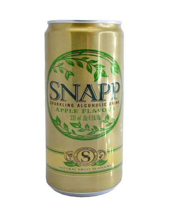 Snapp Can Beer image 1