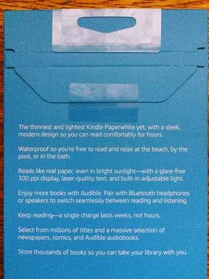 Kindle Paperwhite E-reader: Waterproof image 3