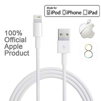 Iphone Charger USB Data Cable iPhone 5 5S 5C 6 6 Plus iPad and iPod image 2