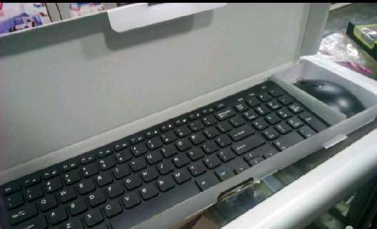 Large wireless keyboard image 1