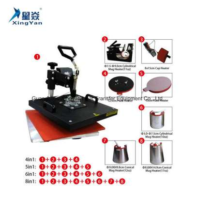 Upgraded 9 in 1 Heat Press Machine Sublimation image 1