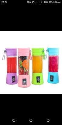 Portable mini bottle blender image 1