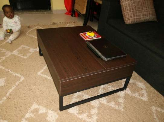 Functional convertible Coffee Table image 2