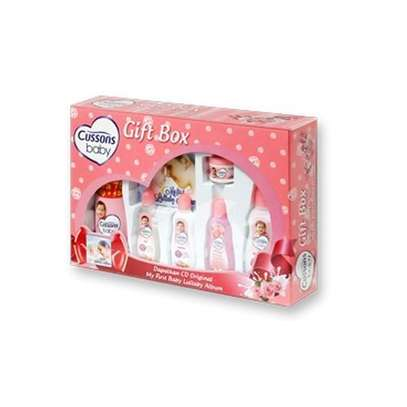 Cussons Soft & Smooth Baby Gift Box- Pink image 1