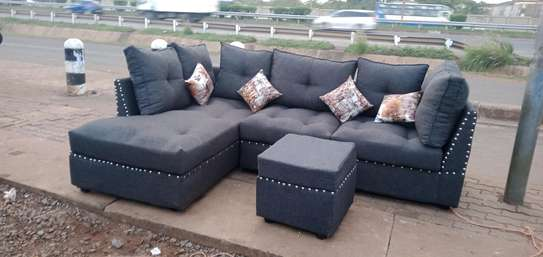 Sofa set made by hand wood and good quality material made image 4
