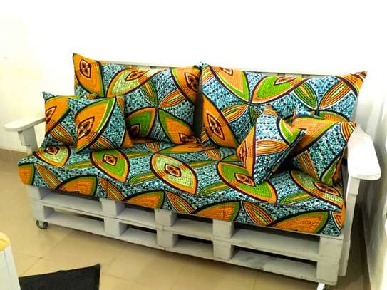 Ankara throw pillows image 1