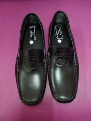 Men's Leather Loafers image 1