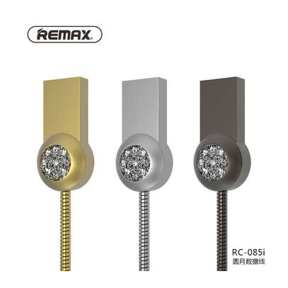 REMAX RC - 085i 8 Pin Anti-knot Charging Transmission Data Cable 100cm image 1