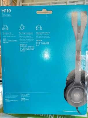 Headphones, H110 stereo Headset image 2