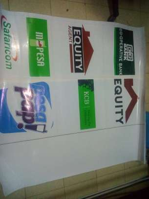 STICKERS & BANNERS PRINTING.