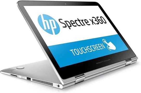 HP Spectre 13 Convertible Ultrabook X360  Intel Core i5 6200U 8GB DDR3L SDRAM, 256 GB SSD, Intel HD Graphics Card 520, QHD IPS Touchscreen, Win10 – Silver image 1
