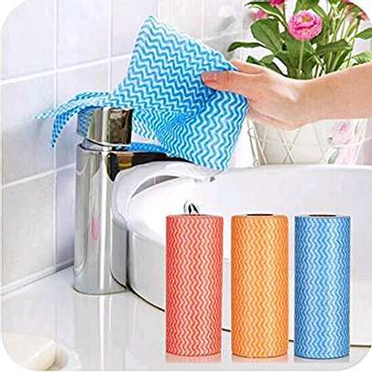 Re~usable paper towel roll mat image 4