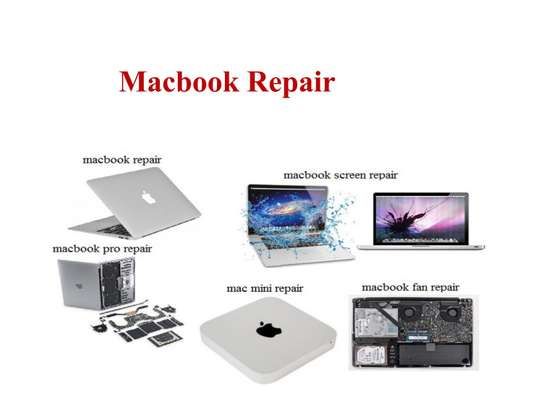 Apple Mac Laptop, iMac, and Apple Services