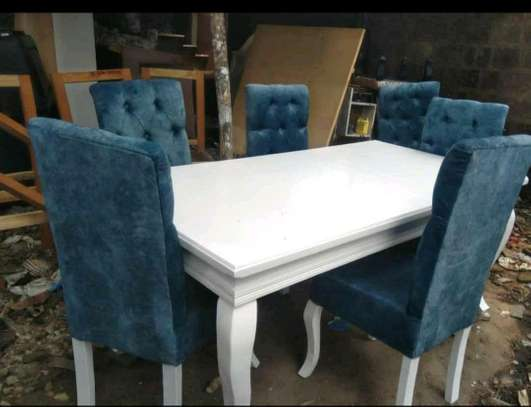 Beautiful Functional Modern 6 Seater Dining Table image 1