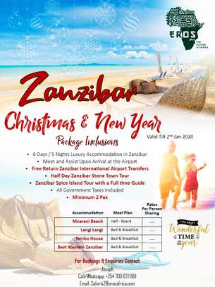 Christmas & New Year Offer in Zanzibar