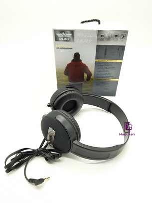 Lelisu LS-813 Stereo Hi-Fi Corded Headphones with Microphone image 3