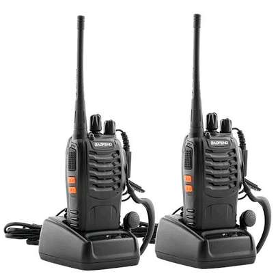2pcs baofeng 888s walkie talkies 2 way walkie talkies