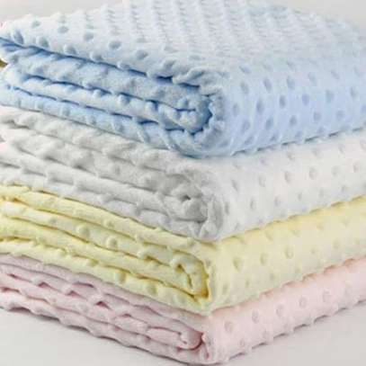 upper Soft, Large and Comfortable Baby Shawls / Receiving Blankets-pink image 2