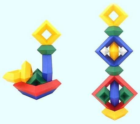 Kids/Children Deluxe Set 30 Pc Building Block Set Educational Toy image 4