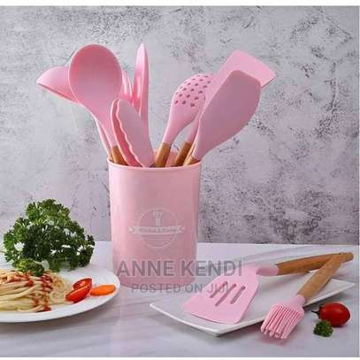 A Set of Silicone Spoons image 1