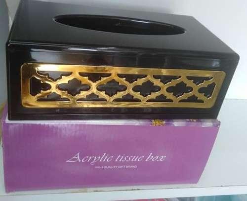 Acrylic tissue box image 1